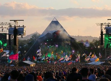Band banned from Glastonbury!
